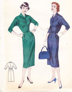 Love this 50's fashion!