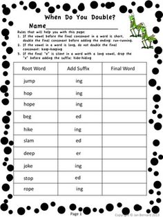 FREE! Get a little buggy with this third grade freebie! This resource includes two student pages that cover three language standards.