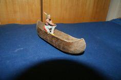 Indianer Kanu Krieger Paddler Massefiguren Elastolinfiguren   eBay