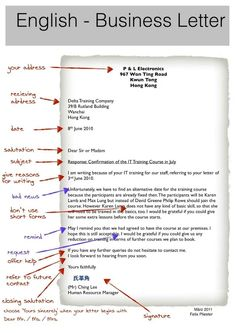 Business letter and email formatting how to format a message business letter spiritdancerdesigns Choice Image