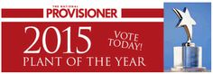 GNP is #proud to announce that we have been #nominated by The National Provisioner for #Plant of the #Year! Click the pin to cast your vote for us.