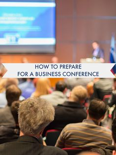 Conferences can be daunting -- how to pack, what to wear, how to network... even how to get your boss to let you go!