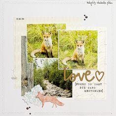 Fox Love (Dezemberkit Papierwerkstatt)
