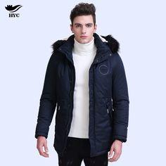28d3d2e8efe4  US  66.87  HAI YU CHENG YU Winter Jacket Men Coat Hooded  cheng