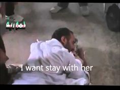 Syrian revolution against Bashar al-Assad:  (Father weeps burn on his daughter) a painful scene  This young Syrian father had hoped to see his daughter Wife, and rejoices in her children in the future! , But it was the sniper's system Asadi (Nusairi) closer because This kills the girl .. (Rose)  This why the girl killed!? Is it a terrorist - as the government says!? -  Where the UN!?  Where are human rights?  These corrupt organizations, interested only in matters that fall under its…