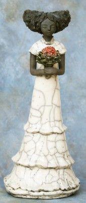 le Bouquet 370 €  Dimensions : 34 cm  Matière : Céramique Raku
