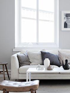 team Sarah Widman. living room in neutral hues