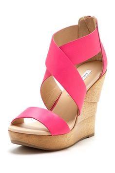 DVF Opal Wedge Sandal