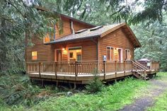 Mt Baker Rim Cabin 64 - It's time to get away to this newer, 2-bedroom, pet friendly cabin!