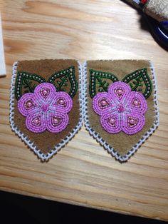 Beaded Glove Tops by Alaska Beadwork