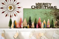 decorate your mantle (or window) ideas