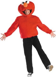 men's costume: elmo-standard