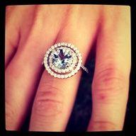aquamarine engagement ring.