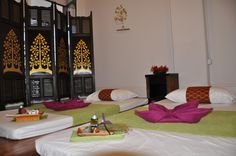 Thai massage room...
