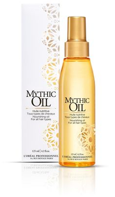 L'Oreal Professionnel Mythic Oil - LOVE this stuff! Put it on before you blow dry and it does wonders