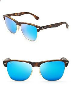 Ray-Ban Mirrored Clubmaster Sunglasses | Bloomingdales