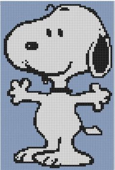 Cross Stitch Design Looking for your next project? You're going to love Snoopy Cross Stitch Pattern by designer bracefacepatterns. Cute Cross Stitch, Cross Stitch Charts, Cross Stitch Designs, Cross Stitch Patterns, Learn Embroidery, Cross Stitch Embroidery, Needlepoint Patterns, Embroidery Patterns, Stitch Cartoon