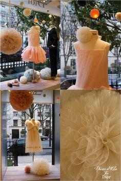 Vitrines Christmas 2012, Oscar et Lila pour Baby Dior