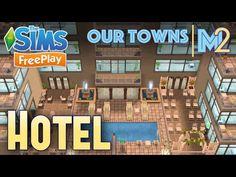 Sims FreePlay - Barbie Mansion (Original House Design) - YouTube