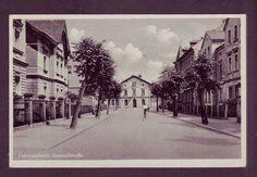 Liebertwolkwitz. Bahnhofstraße 1954 (Leipzig) / V+Rs. große Scans