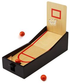 A welcome distraction from that mountain of paper piling up on his desk, this mini tabletop basketball game will provide a much-needed breather that's way superior to the water cooler. With three different hoop heights to choose from, he can adjust the level according to his shot skills.