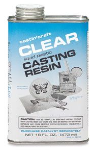 Must buy casting resin to start making jewelry