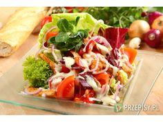 Salatka gyros z kurczaka