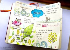 Jenny's Sketchbook: Sketchbook Journal Pages