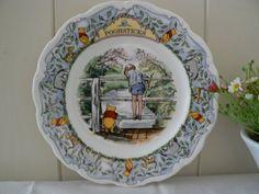 Royal Doulton vintage Winnie the Pooh plate by MaddyVintageHostess, £25.00