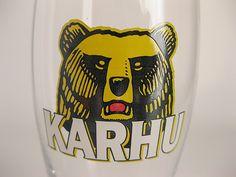 フィンランド KARHU ビアグラス(330ml)