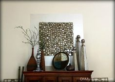 increase the size of wall decor with paint, home decor, paint colors, painting, wall decor