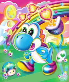 Lisa Frank x Super Mario Pusheen, Lisa Frank Unicorn, Lisa Frank Stickers, 90s Childhood, Childhood Memories, 90s Kids, Rainbow Colors, Rainbow Room, Cute Wallpapers