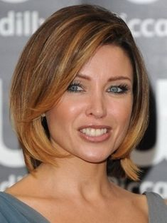Medium hairstyles women over 40