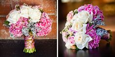 Pink and white bouquet inspiration.  Photo by E3 Photography