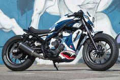 Honda Rebel 500 / CMX 500 Custom Cafe Racer