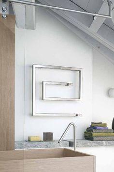 radiatore scaldasalviette design ad acqua calda SNAKE 66 by F.Lucarelli & B. Rapisarda SCIROCCO