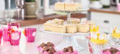 Vaaleanpunaiset keijuprinsessan juhlat - Fazer Childrens Party, Tiered Cakes