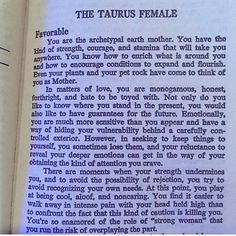 The Taurus Female Astrology Taurus, Zodiac Signs Taurus, My Zodiac Sign, Astrology Signs, Taurus Quotes, Zodiac Quotes, Zodiac Facts, Taurus Woman, Taurus And Gemini