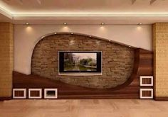 HOME DECOR: 20 Wonderful places for TV wall mount