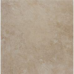 "lowes 1.48, 12"", thru body, impervious, pei 5, 0.6-0.85 slip, 500-750 breakage,   Style Selections 12-in x 12-in Sienna Almond Glazed Porcelain Floor Tile"
