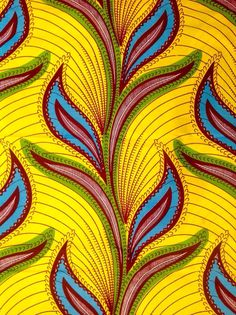African Print Fabric/ Dutch Wax/ Ankara/ by HouseOfMamiWata
