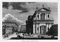 Cartolina d'epoca della Chiesa del Santissimo Salvatore.