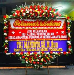 Toko Bunga Jakarta adalah Finaz Florist jual bunga papan beraneka pilihan ukuran dari yang sedang hingga terbesar