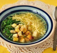 Top 10 českých polévek Modern Food, Japchae, Thai Red Curry, Good Food, Vegetarian, Healthy Recipes, Chicken, Meat, Cooking