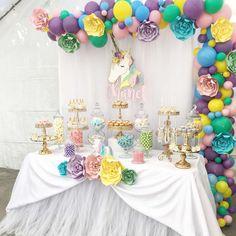 Chanel's Unicorn Birthday  | CatchMyParty.com