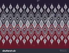 Abstract geometric ethnic pattern design for background or wallpaper. Geometric Patterns, Ethnic Patterns, Weaving Patterns, Tile Patterns, Border Design, Pattern Design, Thai Pattern, Batik Art, Cool Backgrounds