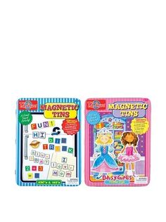 29% OFF T.S. Shure Alphabet & Daisy Girls Magnetic Tin Playset