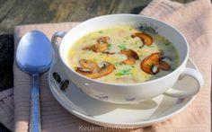 Champignonsoep - Keuken♥Liefde Dutch Recipes, New Recipes, Soup Recipes, Healthy Recipes, Easy Diner, Winter Soups, Cheeseburger Chowder, Stew, Baking Soda