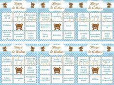 60 Cartelas Baby Bingo Para Chá De Bebê - Envio Por E-mail - R$ 40,00 em Mercado Livre