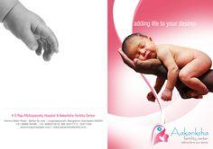 Aakanksha Fertility center brochure design